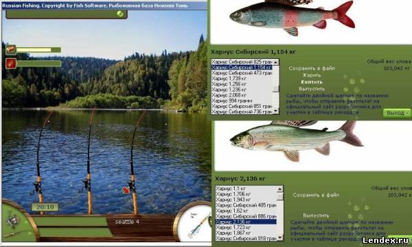программа для ловли рыбы