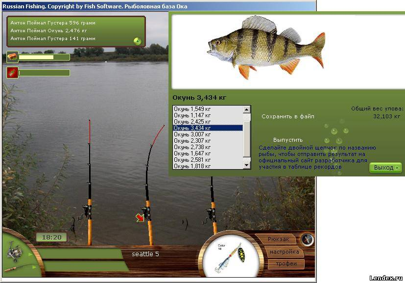 купить рыбалка играть