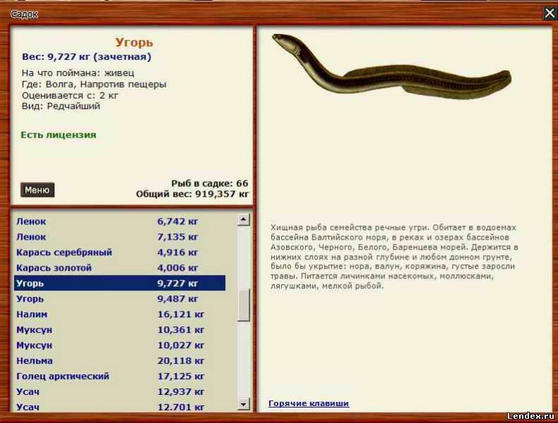 прикормка для угря русская рыбалка 3.99