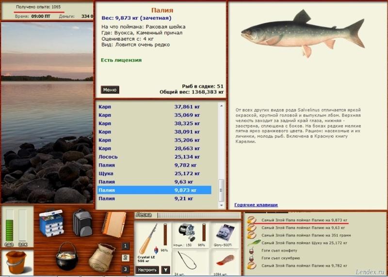 русская рыбалка вуокса