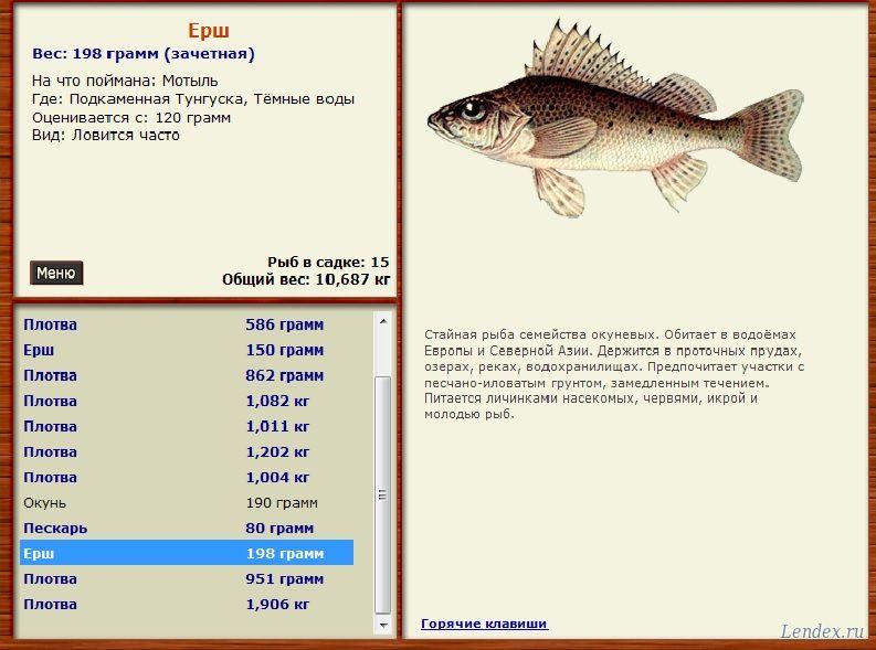 в каком водоеме ловят рыбу