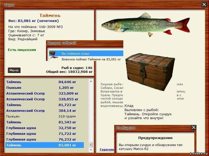 как ловить рыбу таймень